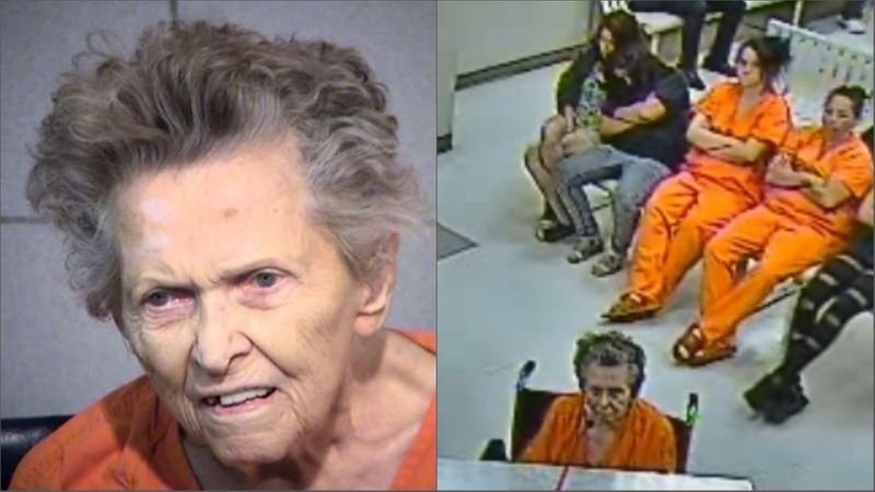 A preliminary hearing is scheduled for a 92-year-old Arizona woman charged with fatally shooting her son because he wanted to put her in an assisted living facility. (Source: Maricopa County Sheriff's Office/3TV/CBS 5)