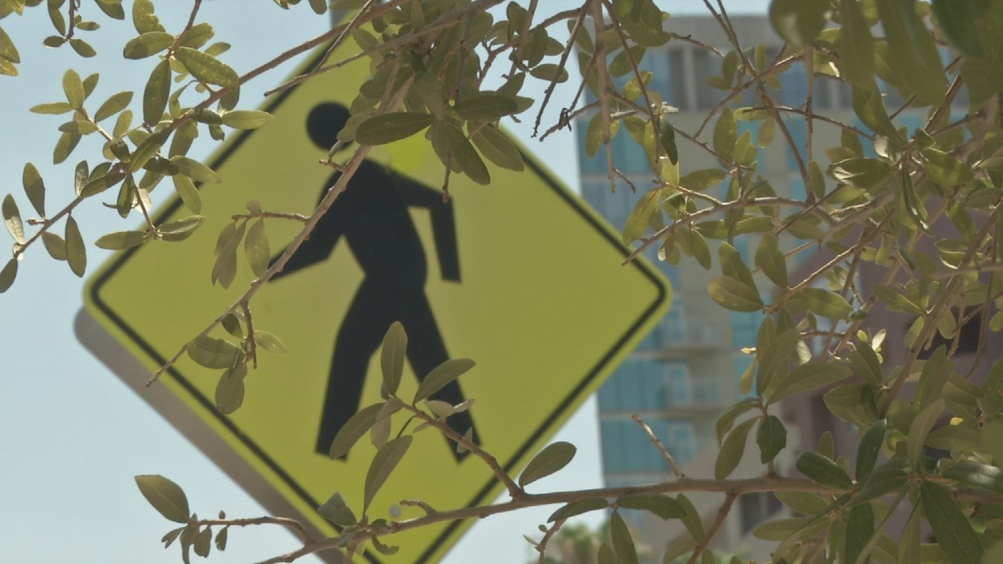 To keep heat off sidewalks, the city is planting 2,000 trees over the next five years. (Source: 3TV/CBS 5)
