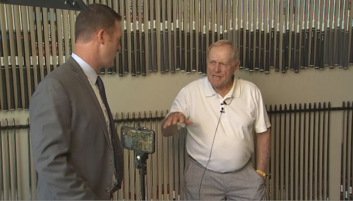 Jack Nicklaus visits Desert Mountain. The Golden Bear will redesign the Renegade Course which he helped design in 1987. (Source: 3TV/CBS 5)