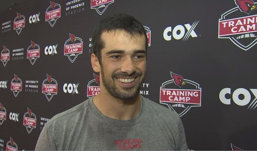 Cardinals 4th string quarterback Chad Kanoff is trying to build on throwing a touchdown in his NFL preseason debut.
