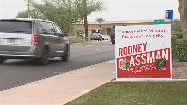 If you run for political office,you may be the butt of a lot of jokes.But Arizona Corporation Commission candidate Rodney Glassman (R) never expected this. (Source: 3TV/CBS 5)