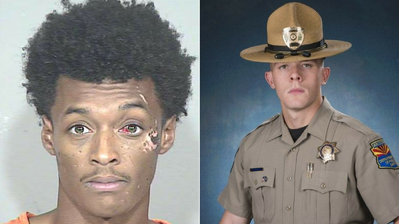 An Avondale man is scheduled to be arraigned on charges in the shooting death of a rookie Arizona Department of Public Safety Trooper Tyler Edenhofer during a roadside struggle on Interstate 10. (Source: MCSO/DPS)