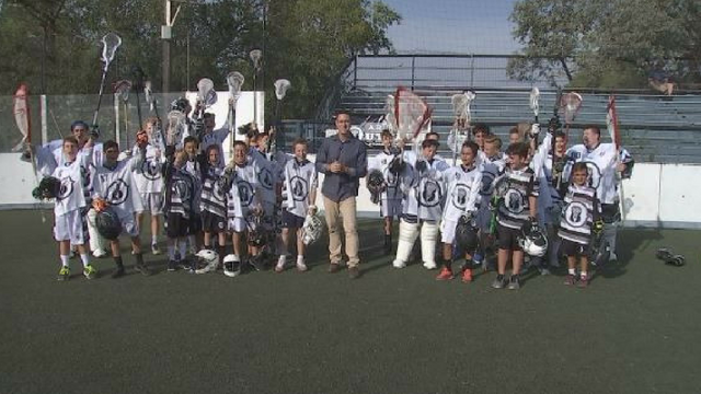 The Arizona Outlaws lacrosse club won three gold medals at the Box Lacrosse National Championships. (Source: 3TV/CBS 5)