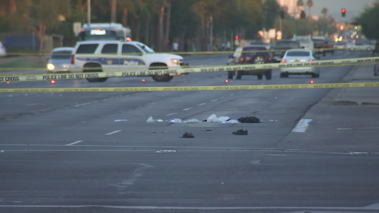 Police say officers found an adult male in the roadway with serious injuries near 40th Street and McDowell Road around 3:35 a.m. (Source: 3TV/CBS 5)