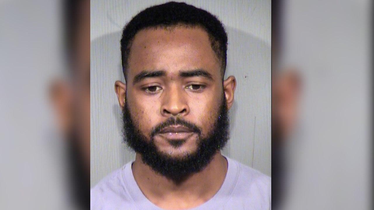 Mugshot for 23-year-old Jon Christopher Clark. (Source: Maricopa County Sheriff Dept.)