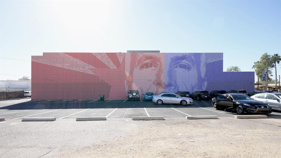A local artist, an architect and a developer want to create a mural in honor of Sen. John McCain in Old Town Scottsdale. (Source: Chen+Suchart Studio)