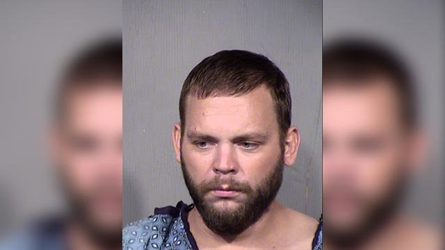 A man is jailed on suspicion of second-degree murder and possession of a weapon by a prohibited person after a fatal shooting at a west Phoenix barbershop. (Source: Maricopa County Sheriff's Office)