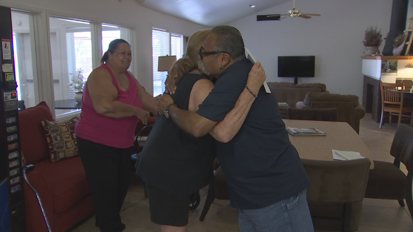 Leo Padilla received $500 through Pay It Forward for helping his tenants. (Source: CBS 5)