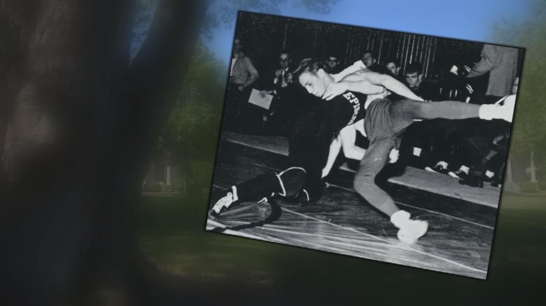 Image result for image of John McCain as wrestler in high school